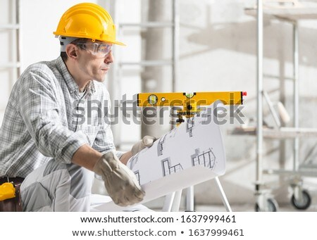 architect kneeling stock photo © photography33