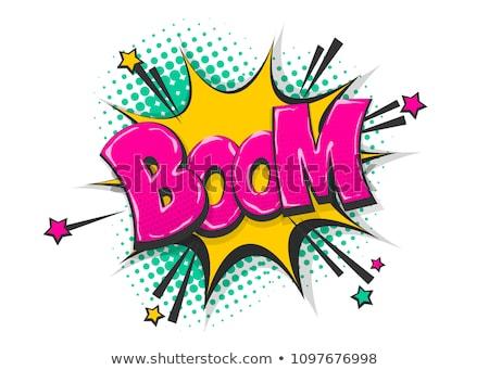 Boom Stock photo © OneO2