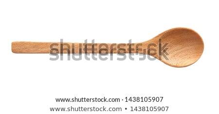 wood spoons and grains stock photo © stevanovicigor