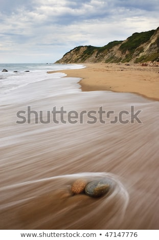 Block Island RI Mohegan Bluffs Stock photo © ArenaCreative