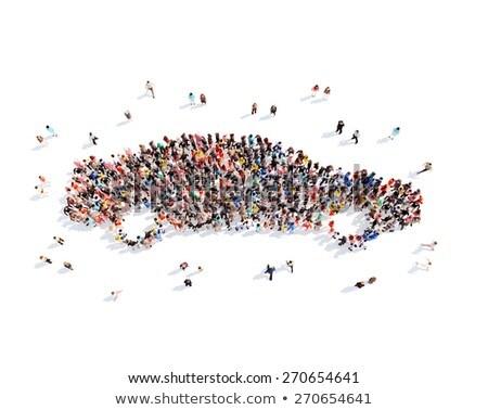 Large group of cars Stock photo © gemenacom