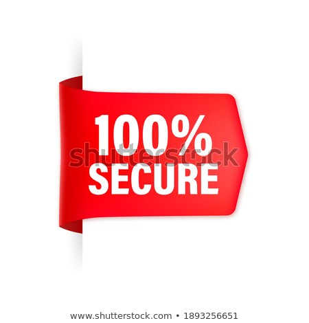 ssl · 保護された · 赤 · ベクトル · アイコン · デザイン - ストックフォト © rizwanali3d