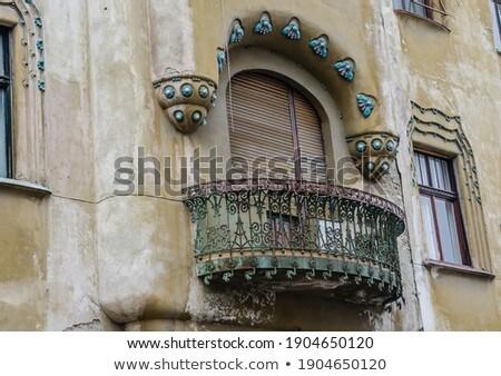 Román dísz dekoratív hagyományos hely szöveg Stock fotó © lirch
