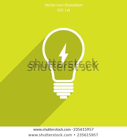 bulb icons on white background vector illustration idea concept stock photo © designer_things