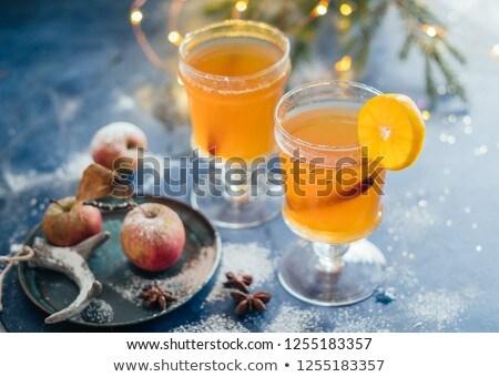 Рождества · осень · деревенский · традиционный · вино · сезонный - Сток-фото © furmanphoto