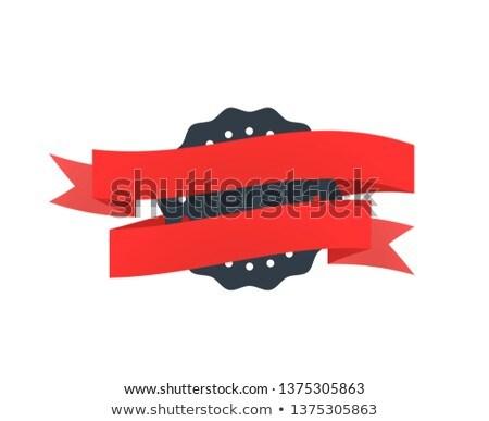 öreg fekete kitűző bürokrácia fehér izolált Stock fotó © evgeny89