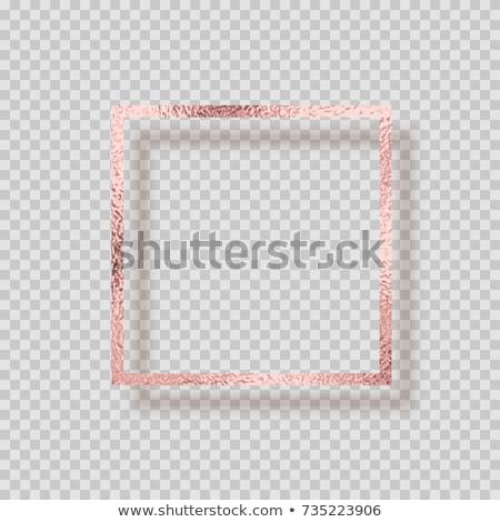 frame of roses stock photo © zhekos