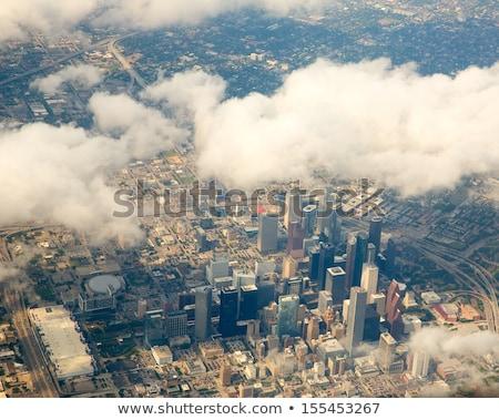 antenne · moderne · gebouwen · centrum · Houston · dag - stockfoto © meinzahn