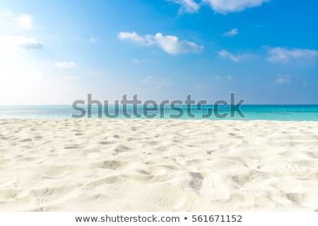 Hullám tenger homok tengerpart klasszikus Thaiföld Stock fotó © sweetcrisis