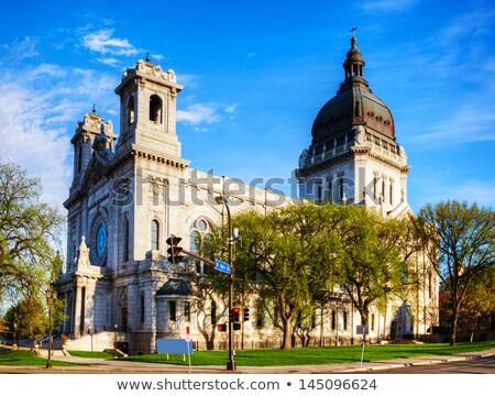 базилика святой улице архитектура мрамор собора Сток-фото © AndreyKr