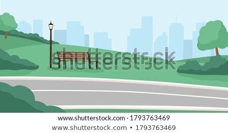 Zdjęcia stock: Cityscape · miasta · wieżowce · ulic · autostrad