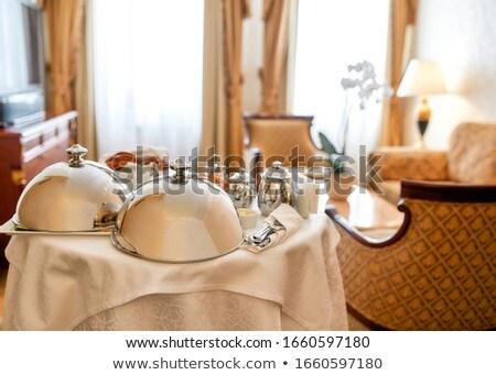 Room interior in a luxury five star hotel Stock photo © Anneleven
