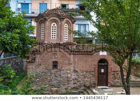 Church Of The Saviour Thessaloniki Greece Stockfoto © Borisb17