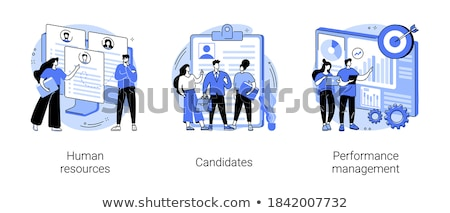 Cv vector metáfora empresarial Foto stock © RAStudio