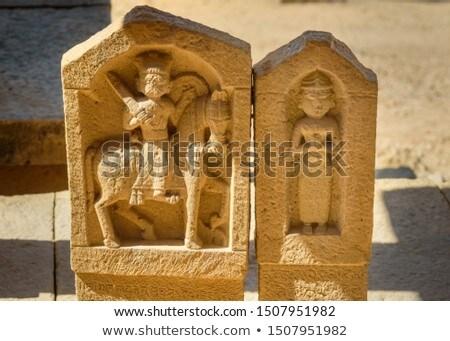 Tombe mausolée Inde attraction touristique repère grès Photo stock © dmitry_rukhlenko