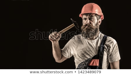 Workman with a hammer Stock photo © photography33