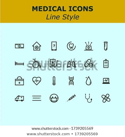 Heart abstract  icons signs and symbols set for your works Stock photo © kiddaikiddee