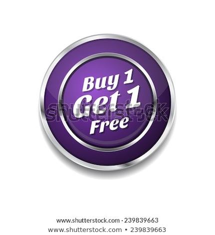get the best purple vector icon button stock photo © rizwanali3d