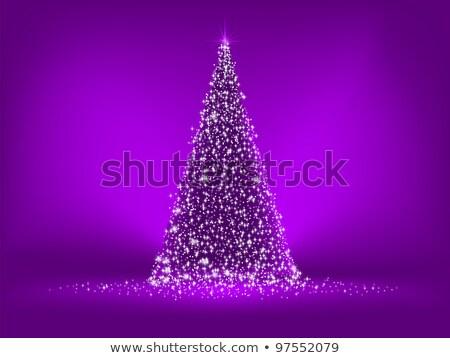 Photo stock: Résumé · pourpre · Noël · eps · vecteur