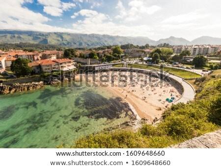Playa España cielo verano océano arena Foto stock © lunamarina