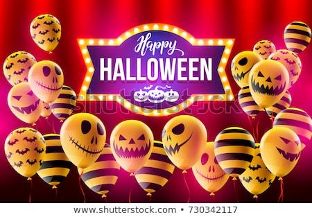 счастливым Хэллоуин вечеринка кадр Сток-фото © Voysla