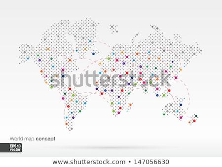 kleur · abstract · kleurrijk · illustratie · business - stockfoto © cienpies