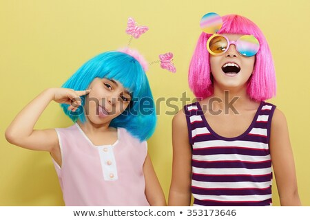 Halloween party accessories and wig Stock photo © furmanphoto