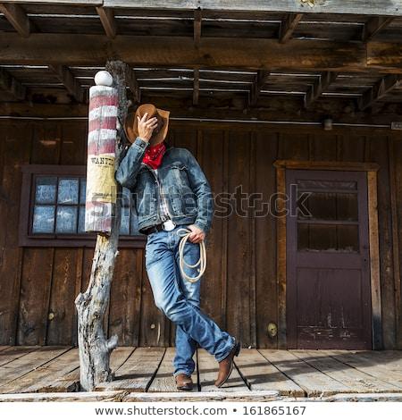 Cowboy hero Stock photo © robStock