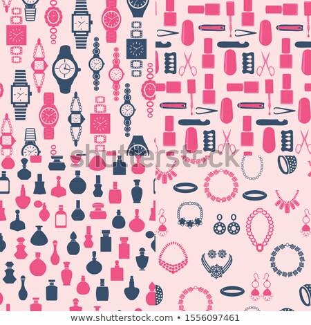Stockfoto: Vrouwen · sieraden · horloge · parfum · schoonheidssalon · element