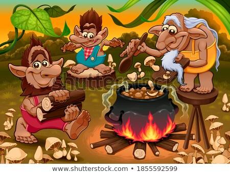 Vegi Gnome Stock photo © naffarts