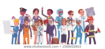 Cartoon Doctor Characters with Different Specializations Stock photo © Voysla
