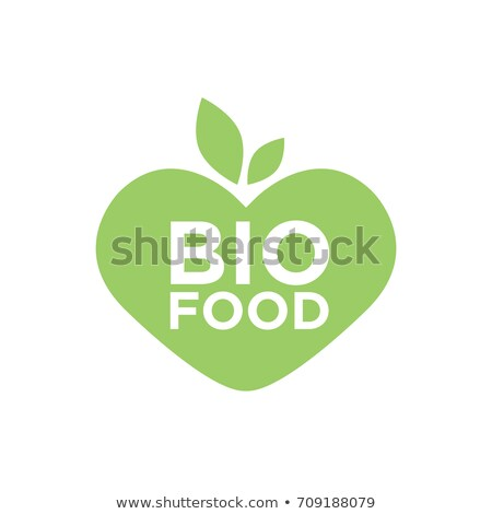 Banner of Heart shape of food health for heart. Stock photo © Illia