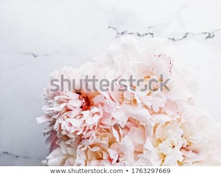 Bouquet fiori lusso marmo wedding evento Foto d'archivio © Anneleven