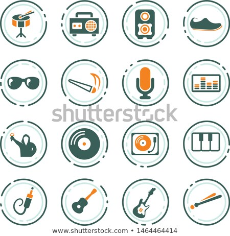 Electronic piano and tape recorder Stock photo © Nobilior