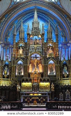 Notre-Dame de Quebec Basilica-Cathedral Stock photo © aladin66