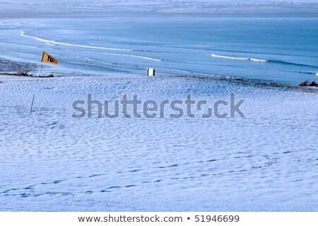 白 · 雪 · カバー · ゴルフコース · アイルランド · 冬 - ストックフォト © morrbyte