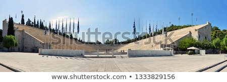Old Athens Olympic Stadium Stock photo © searagen