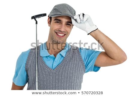 Golfer head and shoulders smiling. Stock photo © photography33