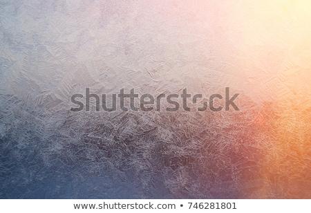 Frozen Glass Stok fotoğraf © Fanfo