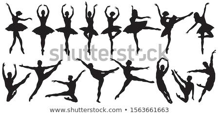 バレエ · シルエット · ダンス · 芸術 · 少年 · 女性 - ストックフォト © kaludov
