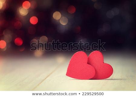 Coloré romantique bokeh vecteur lumières Photo stock © nikdoorg
