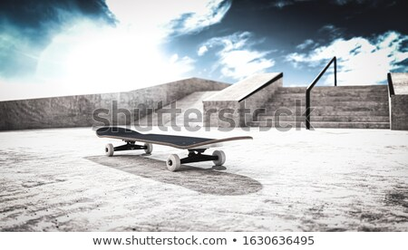 Skatepark Stock photo © kitch