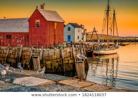 Fishing Shack Stock photo © michelloiselle