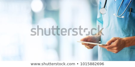 медицинской · живота · беременная · женщина · стороны · врач · беременна - Сток-фото © photography33