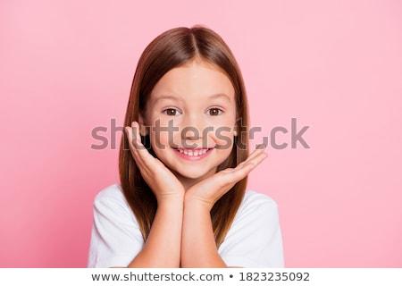 Сток-фото: улыбаясь · девушки · камеры