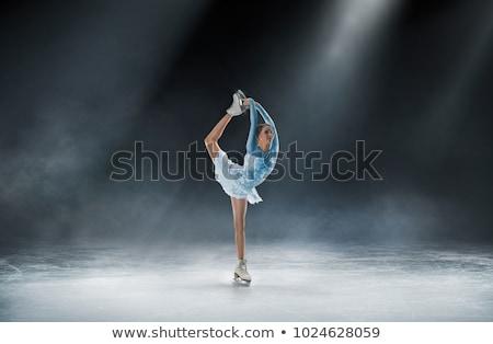 фигурное катание пару спорт флаг победителем играх Сток-фото © perysty