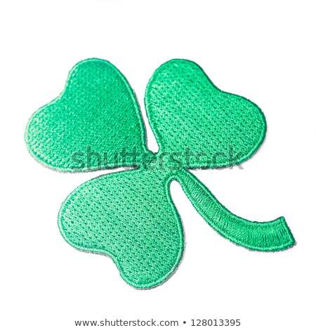 Green Clover Patch Stock photo © RachelD32