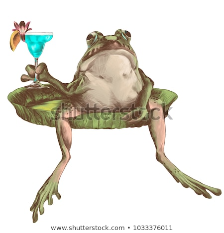 Cocktail Frog Stock photo © tilo