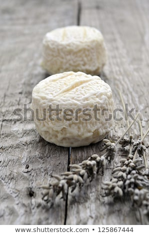 goat cheese and fresh fig stock photo © m-studio