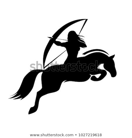 bows woman medieval armor stock photo © taiga
